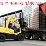 Hướng dẫn cách lái xe nâng hàng 2.5 tấn