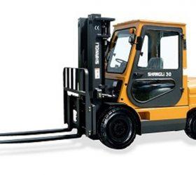 Xe nâng Shangli CPCD30 Cabi