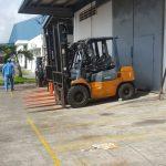 Nhà Máy Sữa Vinamilk Cần Thơ – Bảo trì định kỳ hệ thống xe nâng hàng
