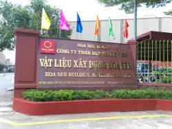 Công Ty TNHH MTV VLXD Hoa Sen