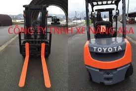 Xe nâng dầu Toyota