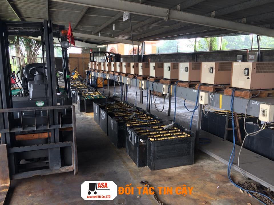 Địa chỉ cho thuê bình điện xe nâng hàng chất lượng bảo hành lâu dài ở TP. HCM
