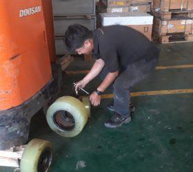 Sửa chữa xe nâng khu vực Miền Nam