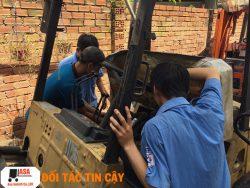 sừa xe nâng chuyên nghiệp, sửa xe nâng giá rẻ quận Gò Vấp