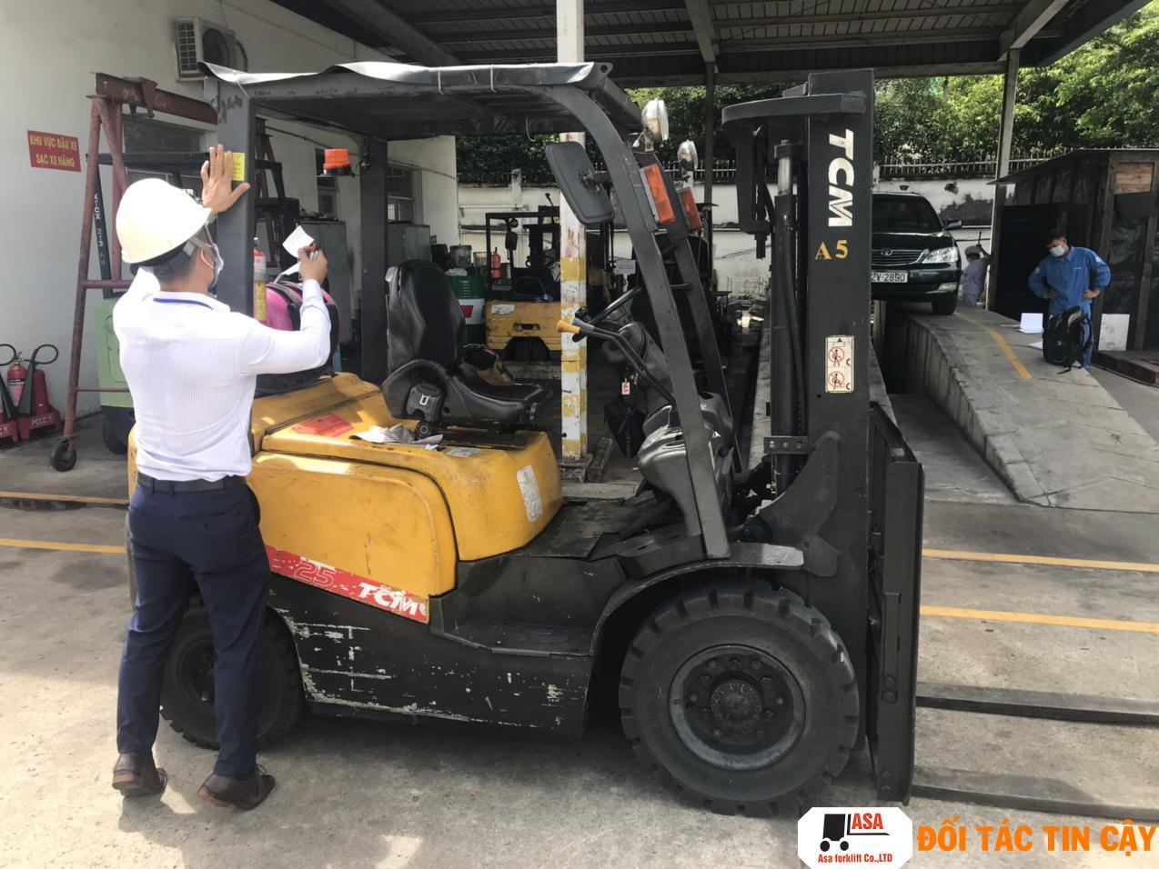 Sửa xe nâng chuyên nghiệp, giá rẻ, uy tín tại quận Gò Vấp.