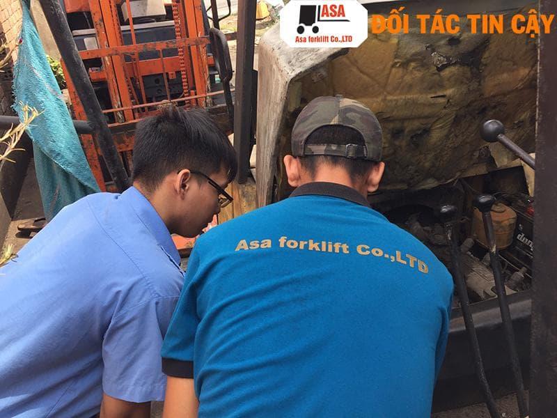 Dịch vụ sửa chữa xe nâng tại Đồng Nai