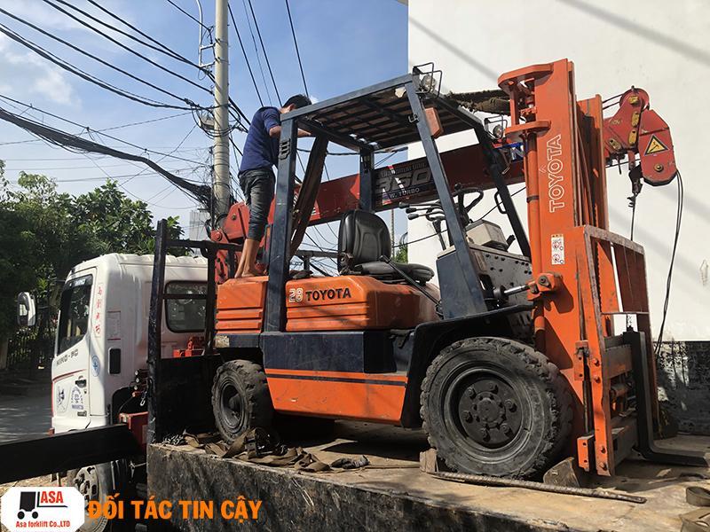 Dịch vụ sửa xe nâng hàng tận nơi