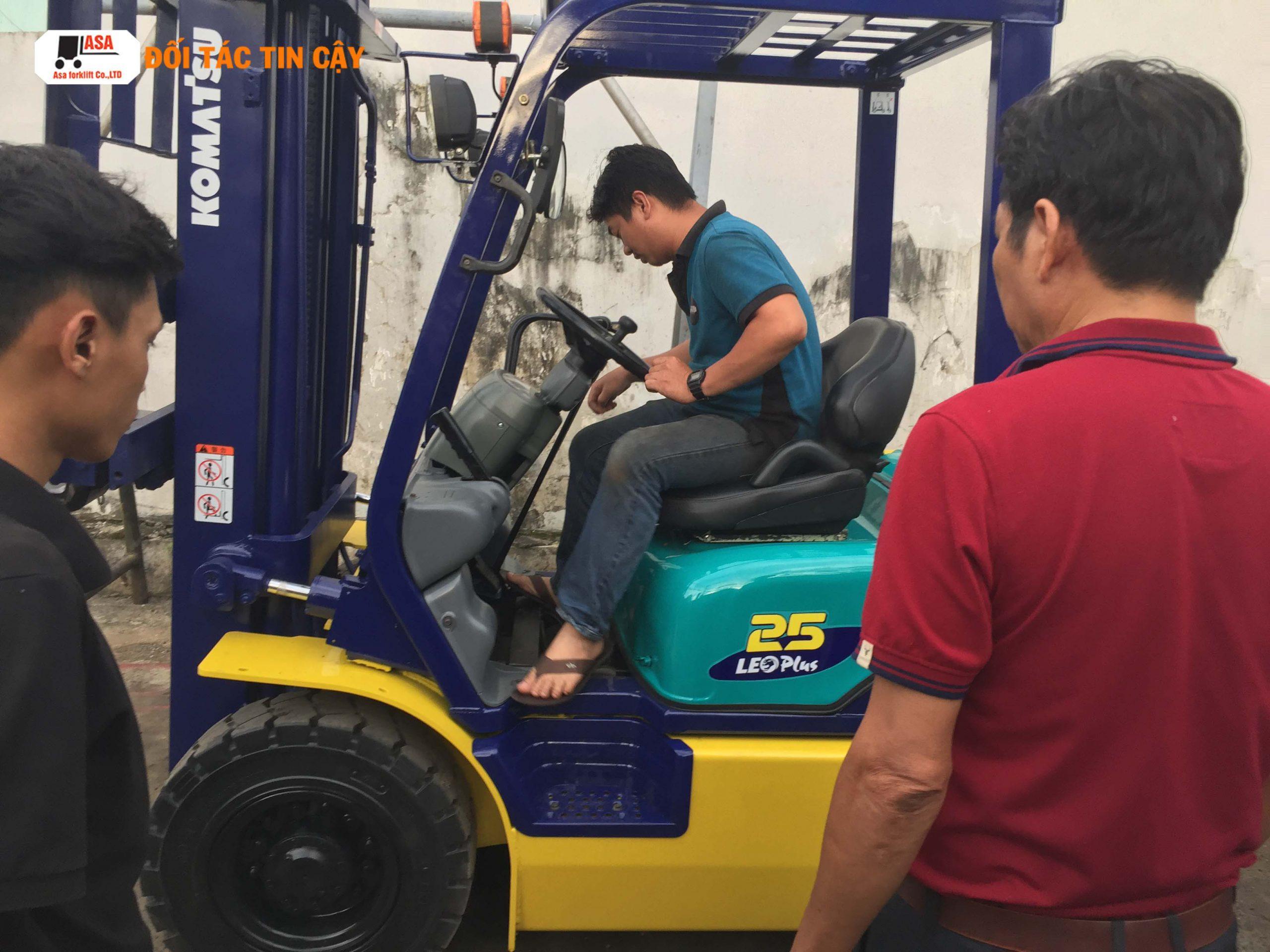 Chuyên nhận sửa chữa xe nâng các khu công nghiệp tại Bình Dương