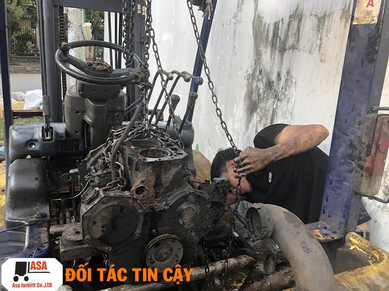Đơn vị sửa chữa xe nâng hàng chất lượng