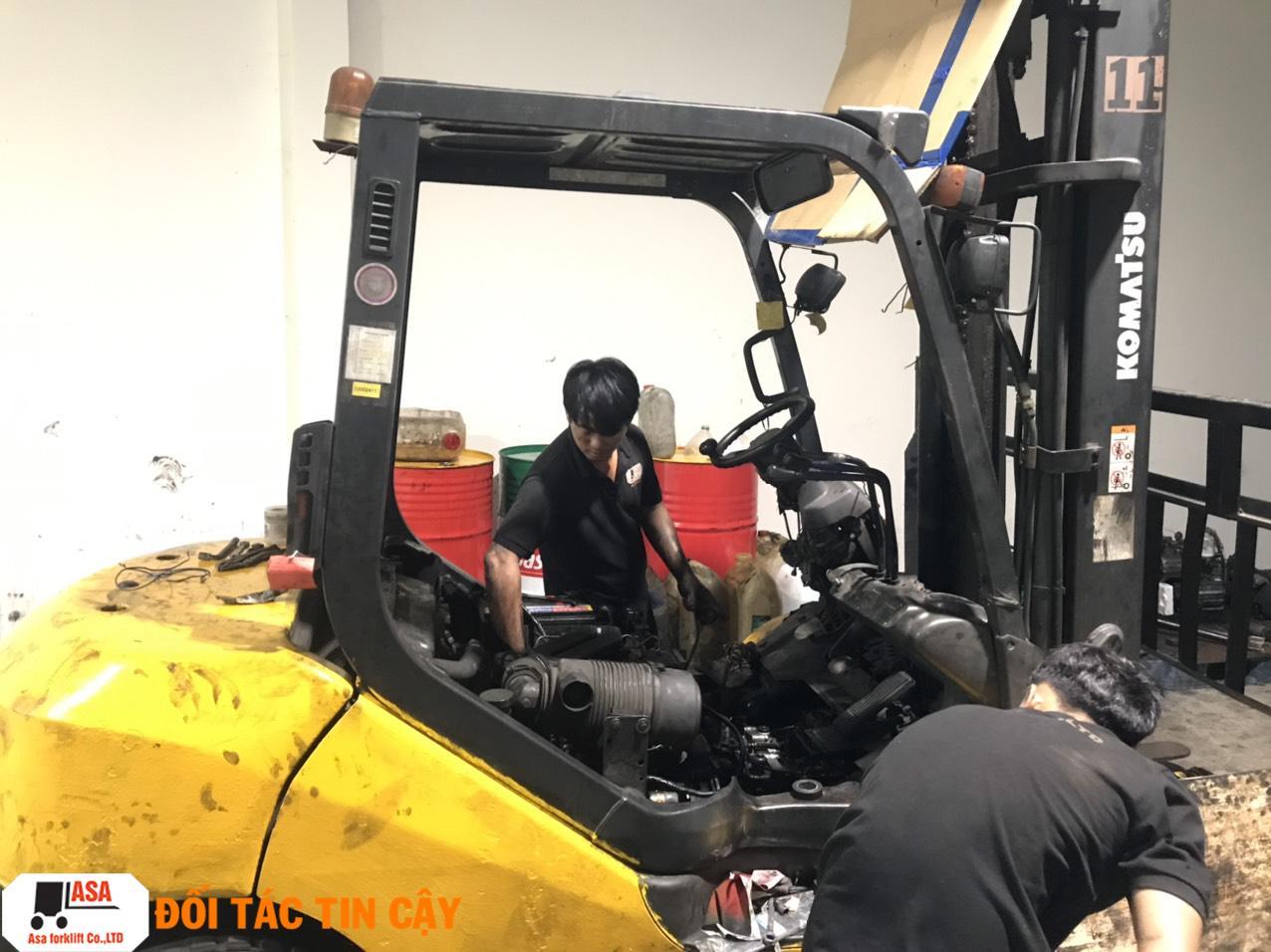 Sửa chữa xe nâng uy tín, chất lượng quận Bình Tân