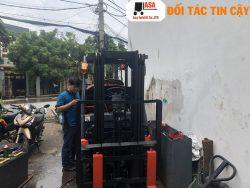 Sửa xe nâng ở Công ty ASA