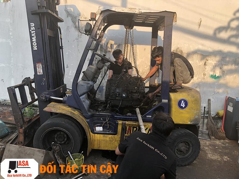 Nhận sửa chữa xe nâng tận nơi trên toàn khu vực miền nam.