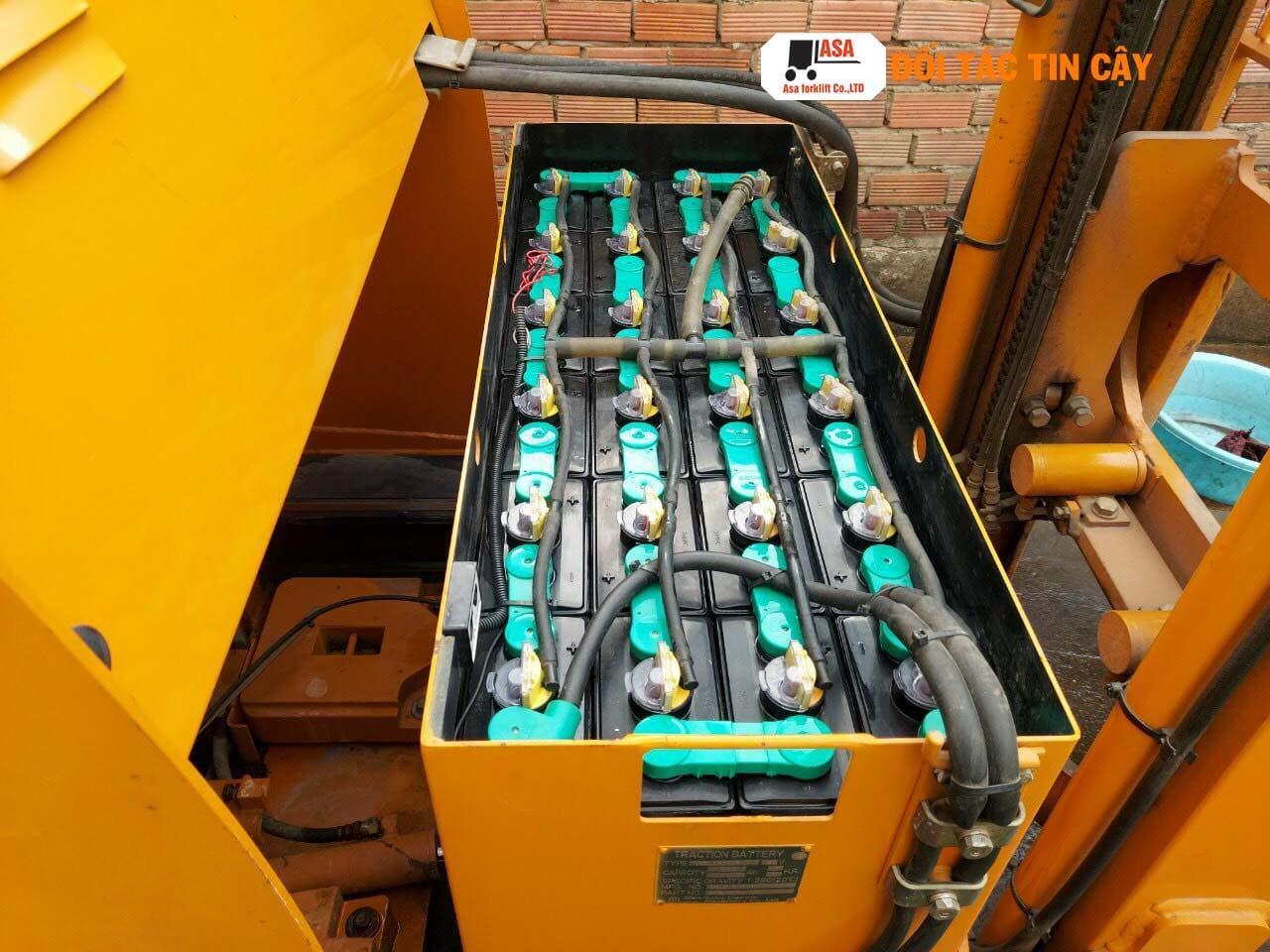 Phục hồi và sửa chữa bình ắc quy xe nâng điện