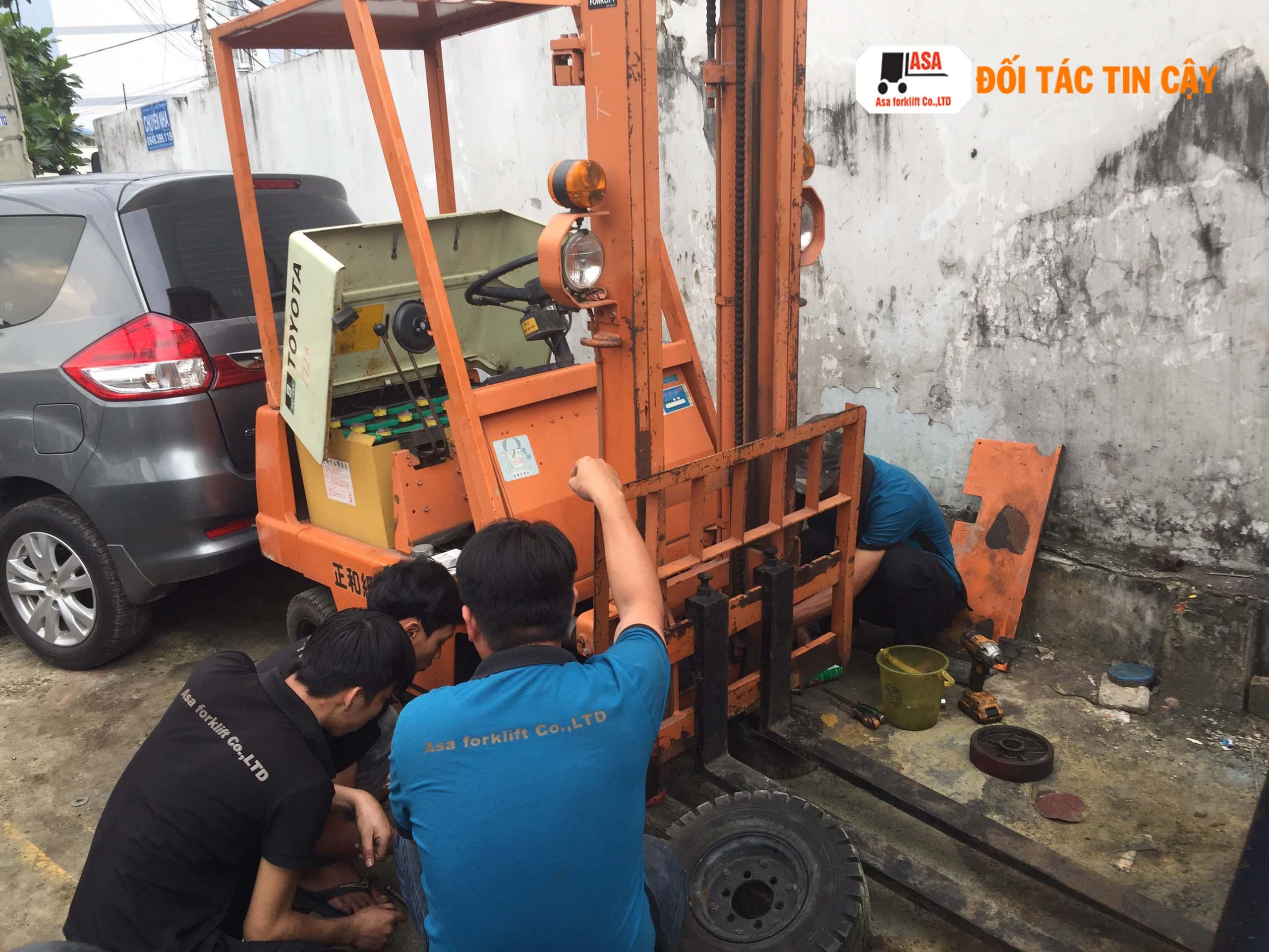 Asa cung cấp dịch vụ sửa xe nâng điện tại TP. HCM