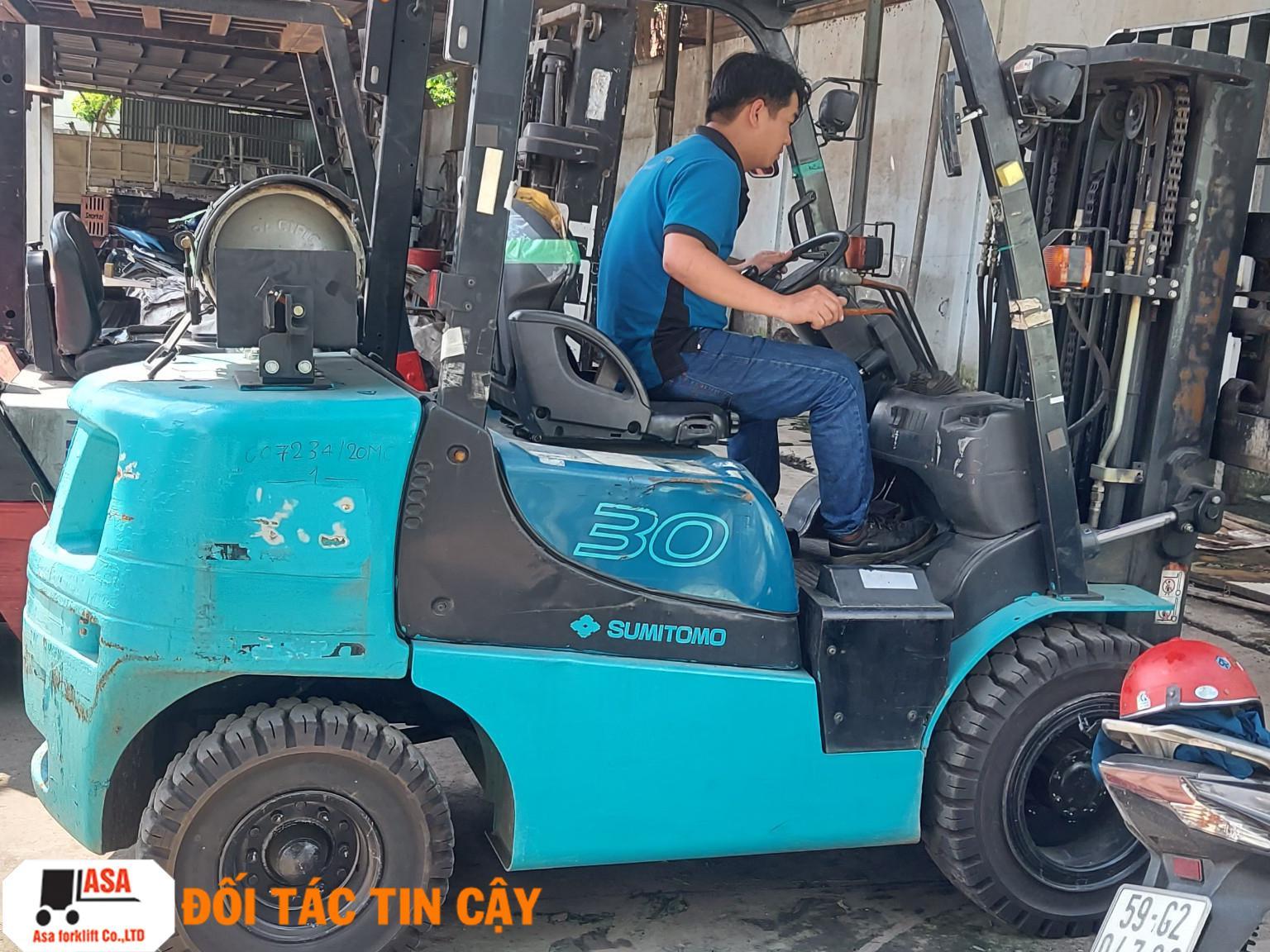Sửa xe nâng tại Vũng Tàu là một giải pháp giúp ích rất nhiều cho doanh nghiệp bạn