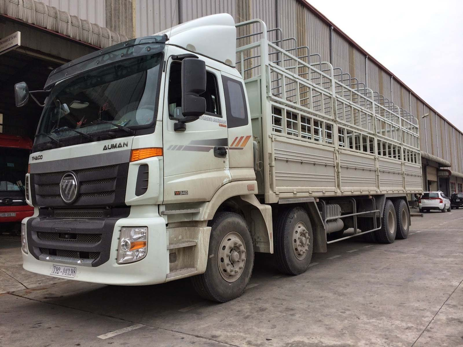 THACO là thương hiệu nổi tiếng của Việt Nam với rất nhiều dòng xe tải hiện đại và mẫu mã đẹp