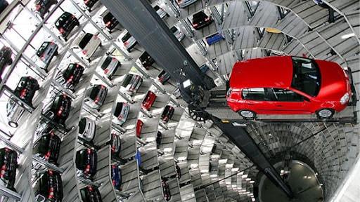 Bãi đỗ xe ô tô nhiều tầng hiện đại nhất