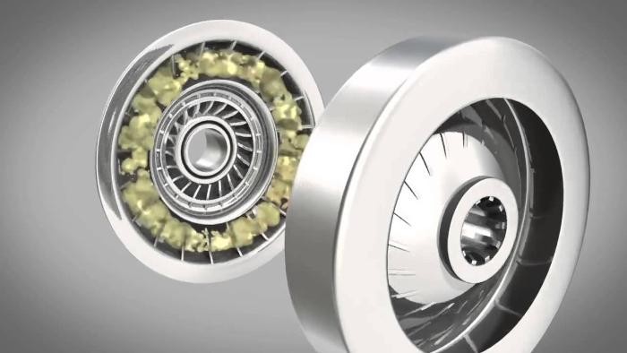 Mặc dù tốc độ tuabin có sự tăng lên liên tục khi xe tăng tốc nhưng vẫn có sự khác biệt giữa bánh bơm và tuabin