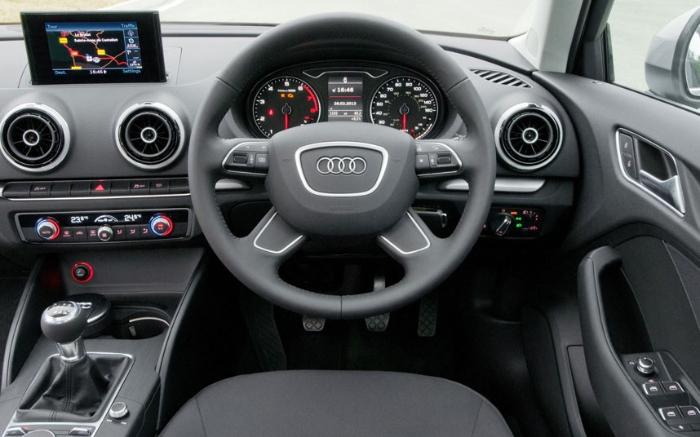 Hình ảnh các bộ phận trong buồng lái của ô tô