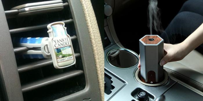 Đốt nến thơm là một trong những cách làm thơm xe ô tô