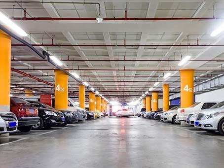 Thiết kế bãi đỗ xe thông minh ở tầng hầm tòa nhà lớn