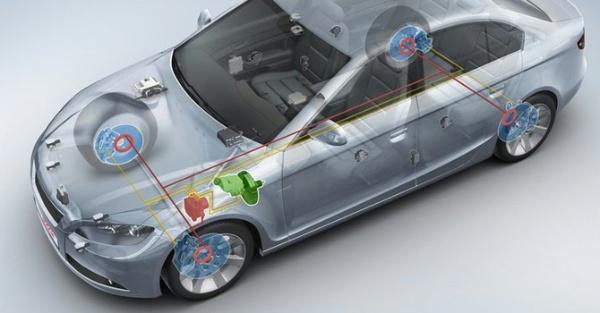 Áp lực phanh được truyền trực tiếp đến bánh xe tương đương với áp lực của người lái lên bàn đạp phanh