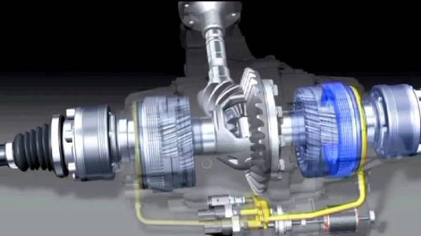 Bộ phận khóa vi sai giúp điều khiển và tác động lên 4 bánh xe để chúng di chuyển với nhiều tốc độ khác nhau