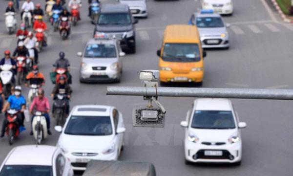 Camera giao thông sẽ ghi hình các phương tiện tham gia giao thông để kiểm tra hành vi vi phạm