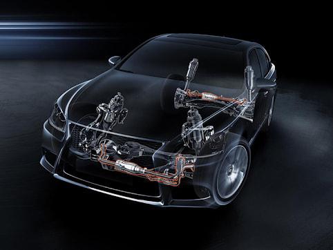 Hệ thống treo bán độc lập cho phép việc chuyển động của 2 bánh xe có sự ảnh hưởng đến nhau mặc dù hoạt động riêng lẻ