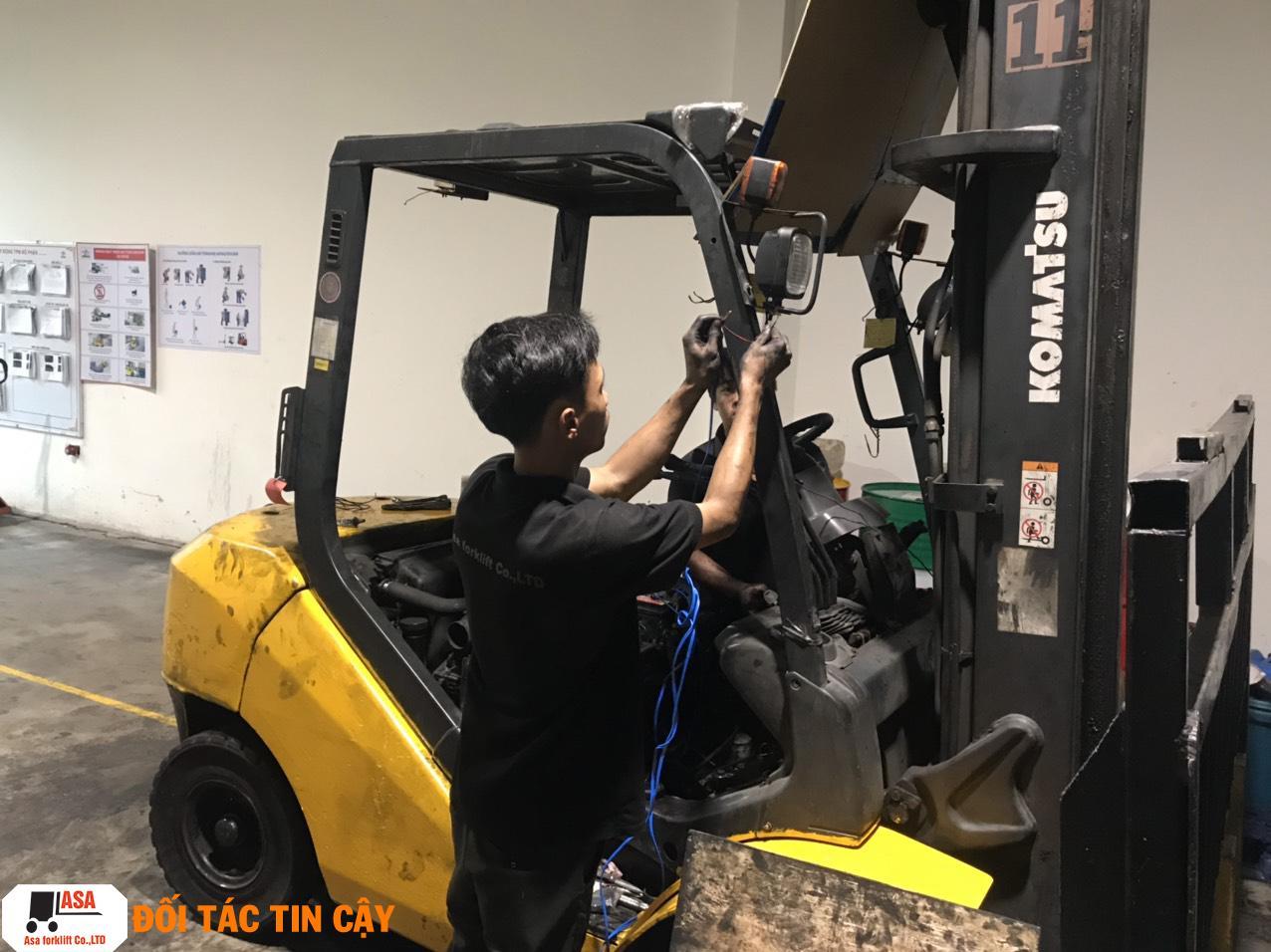 Đơn vị cung cấp dịch vụ sửa xe nâng tại Đồng Nai giá rẻ