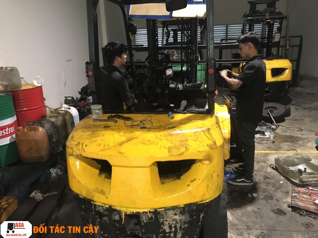 Đơn vị sửa chữa xe nâng tại Đồng Nai uy tín chuyên nghiệp