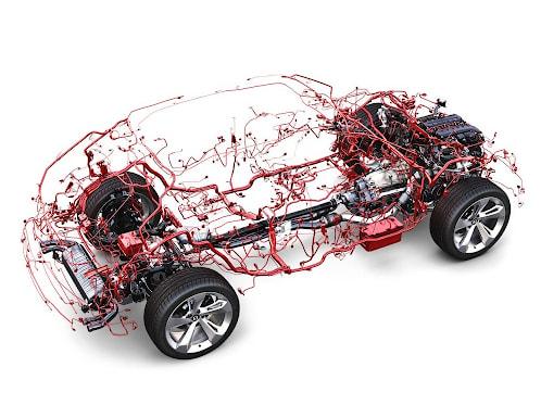 Hệ thống điện căn bản trên ô tô bao gồm 12 hệ thống